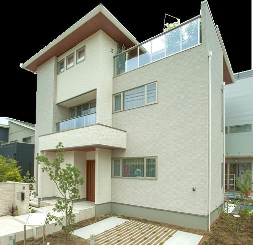ゼロホーム最新二世帯住宅モデルハウス 伏見桃山ハナミズキの家