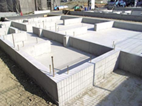 耐震工事中の写真