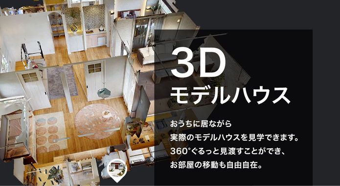 3Dモデルハウス
