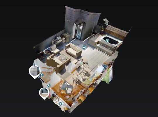 毎日の暮らしに、光と風を感じるハコニワ住宅 3Dモデルハウス