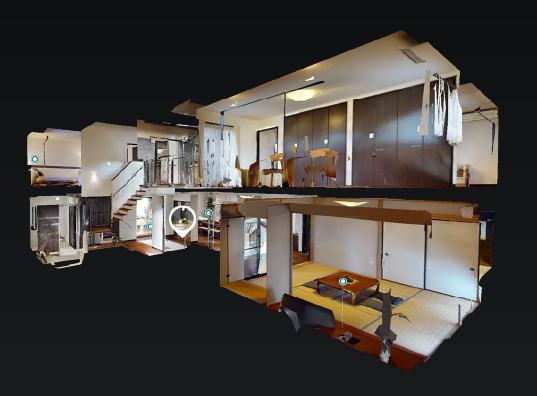 須磨 子育てを楽しむ二世帯の家 3Dモデルハウス