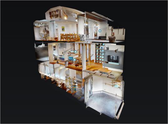 今出川ファミリーハウス 3Dモデルハウス