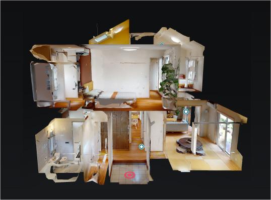 宇治 アカシアの家 3Dモデルハウス